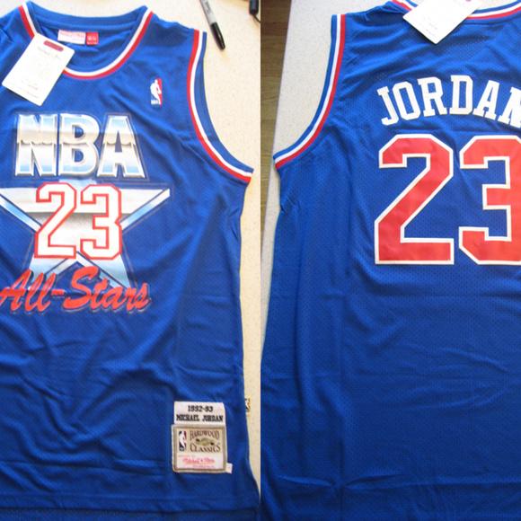 6716d3e1398 Mitchell & Ness Shirts | New Mitchell Ness Michael Jordan Allstar ...